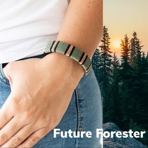 Future Forester Brown and Green Wrap